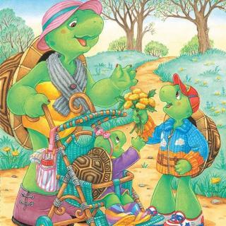 0040《小乌龟富兰克林23-和小妹妹》【慧慧老师读绘本】