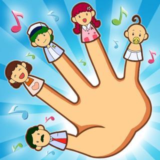 830 The finger family 英文儿歌