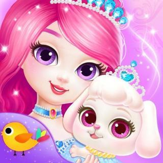 勇敢的公主和小狗