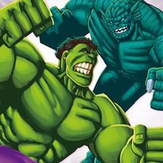 超级明星经典动画故事 — 3:绿巨人大战狂暴恶煞