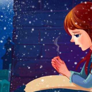 安徒生童话故事—卖火柴的小女孩