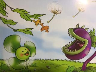 植物大战僵尸-「三叶草,转起来」