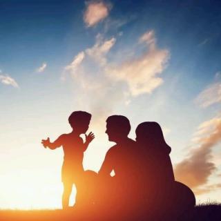 谢谢你做我的孩子,谢谢你做我的父母
