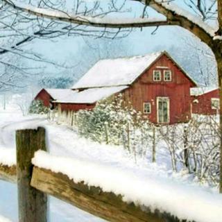 雪落故园时节,我在时光中回味