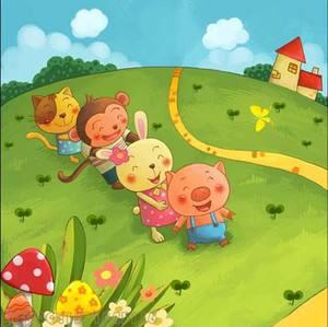 幼儿睡前故事《不爱洗澡的小猪》