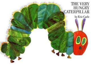 绘本岛好饿的毛毛虫-英文版The Very Hungry Caterpillar