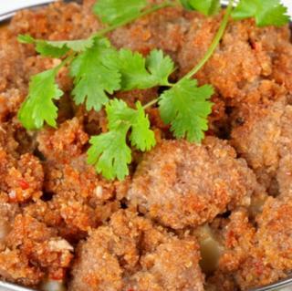 西安美食――寻找老某家粉蒸肉