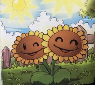 植物大战僵尸之我要变成双胞向日葵