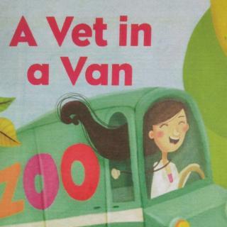 a vet in a van by nancy