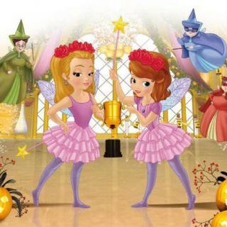 Aaron妈咪讲故事啦~小公主苏菲亚之万圣节服装秀