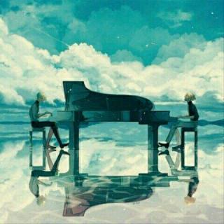 走在冷风中(钢琴)
