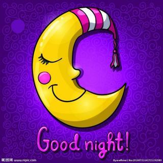 晚安故事Day84:爱翻跟头的弯月亮