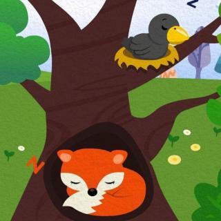 《狐狸和乌鸦》儿童故事