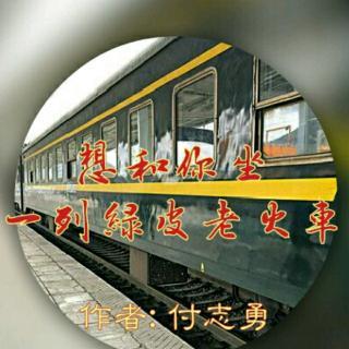 《想和你坐一列绿皮老火车》/作者:付志勇