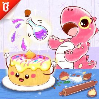 《栗子蛋糕想回家》-撒谎可是不对的喔 -斑点龙的蛋糕店-宝宝巴士