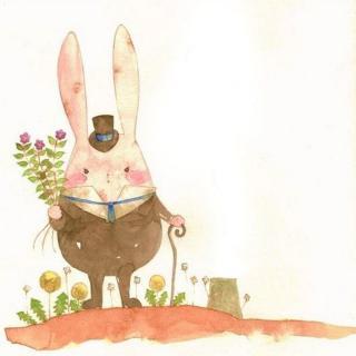 睡前故事《不想起床的兔子》