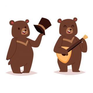 大大熊和小小熊