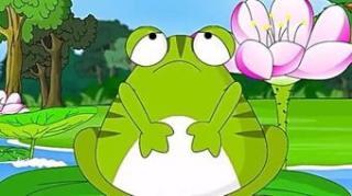 月亮姐姐讲故事《逞强的青蛙》