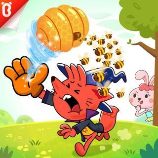 《超级吸吸手套》-勇敢的兔子可可05【宝宝巴士故事】