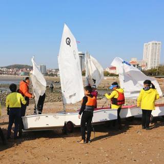Educación marítima, en una escuela primaria de Qingdao