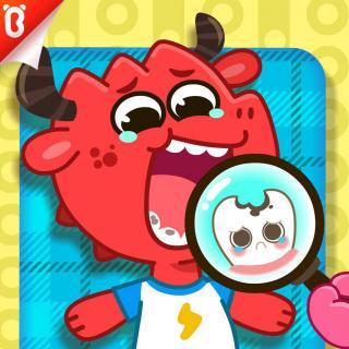 《看牙齿好好玩》-我不怕牙医-喷火龙和弟弟【宝宝巴士故事】