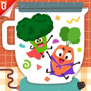 《好酷的蔬菜变身秀》快把我吃掉-蔬菜超人【宝宝巴士故事】