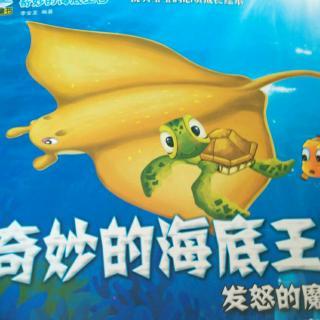 奇妙的海底王国-发怒的魔鬼鱼