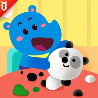 《神奇橡皮泥》好朋友要互相帮助-斑点龙的蛋糕店-宝宝巴士故事