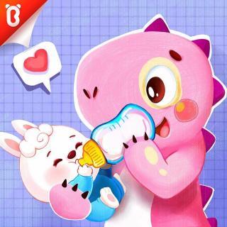 【斑点龙的蛋糕店】兔宝宝要喝奶:照顾兔宝宝【故事】