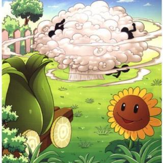植物大战僵尸系列 之 地刺的警示牌