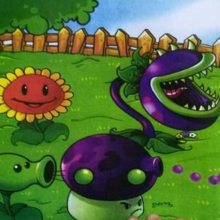植物大战僵尸之大喷菇和小喷菇