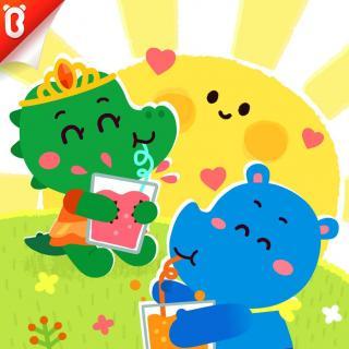 《心情魔法果汁》一起分享更开心-斑点龙的蛋糕店-宝宝巴士故事