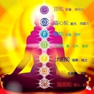 【能量梳理】海底轮:活力,热情;脐轮:能量,逆龄。