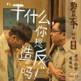 野狗杂谈Vol.19 - 老师你好~暖暖哒!