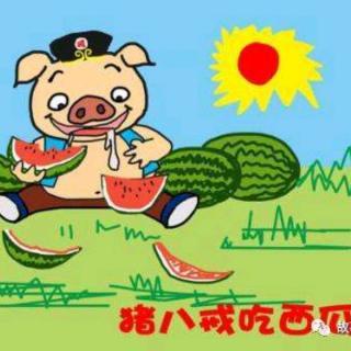 老师妈妈的睡前故事《猪八戒吃西瓜》