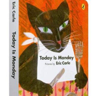 【贝拉读绘本】Today is Monday