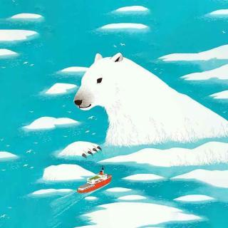 用心说   一只北极熊