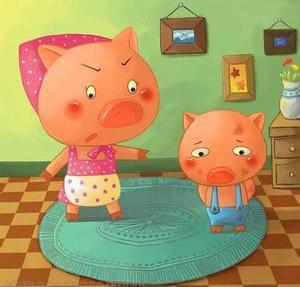 《不爱洗澡的小猪》