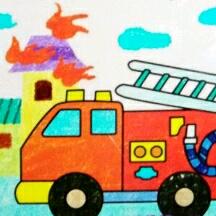 安全知识――消防车与火精灵
