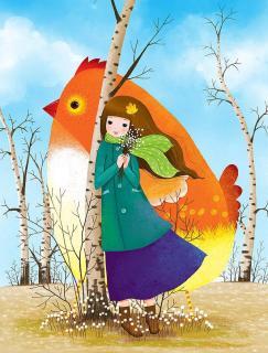 故事《树上的公鸡》作者:邓键,播讲:琪琪