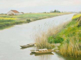 散文《故乡的小河》,作者:清欢,朗读:宁静