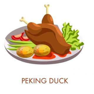 我不喜欢北京烤鸭