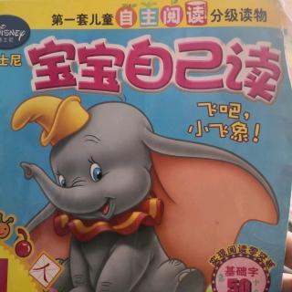 宝宝自己读-飞吧!小飞象