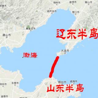 如果把渤海围起来,能让其变成淡水湖?