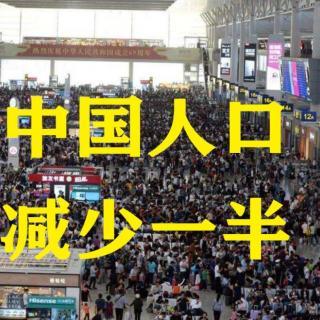 如果中国人口随机减少一半,会发生什么?