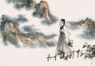 采菊东篱下,悠然见南山。