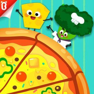 《好吃的披萨》芝士先生有力量-蔬菜超人【宝宝巴士故事】