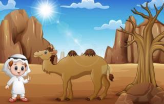 【领航卓越故事】园长妈妈睡前故事369《爱美的小骆驼🐫》