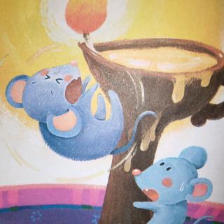 爱希尔幼儿园刘君辰小朋友亲子阅读打卡第十八天《小老鼠上灯台》