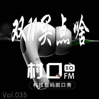 双11买点啥 村口FM vol.035